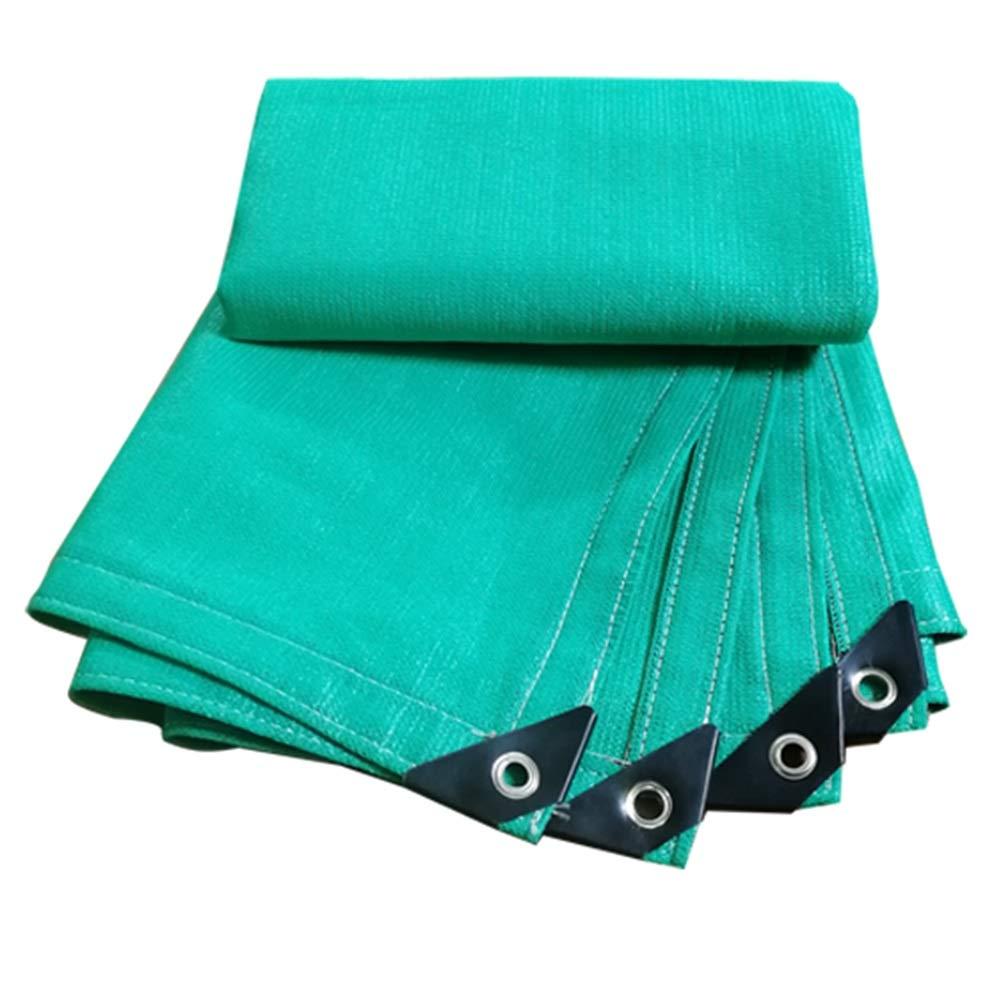 Vert 3x6m GDMING Filet De Camouflage Prougeection D'ombre De Balcon Trou en Métal Cryptage Durable Résistance Aux Rides Polyester, 24 Tailles (Couleur   Vert, Taille   3x6m)