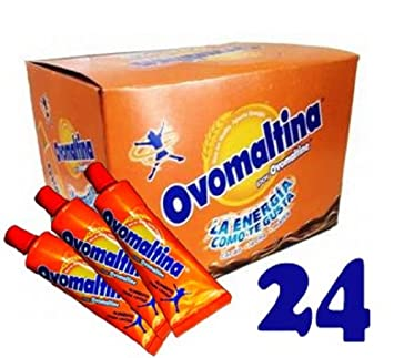 Ovomaltine Rich Chocolate , Venezuelan Flavor! (Pack of 24)