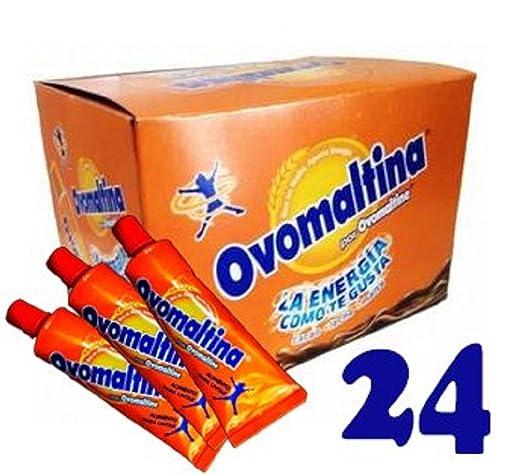 Amazon.com : Ovomaltine Rich Chocolate, Venezuelan Flavor! (Pack of 24) : Grocery & Gourmet Food