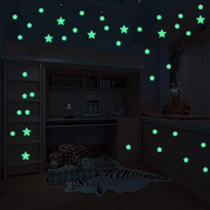 glow sticker dark Adult in