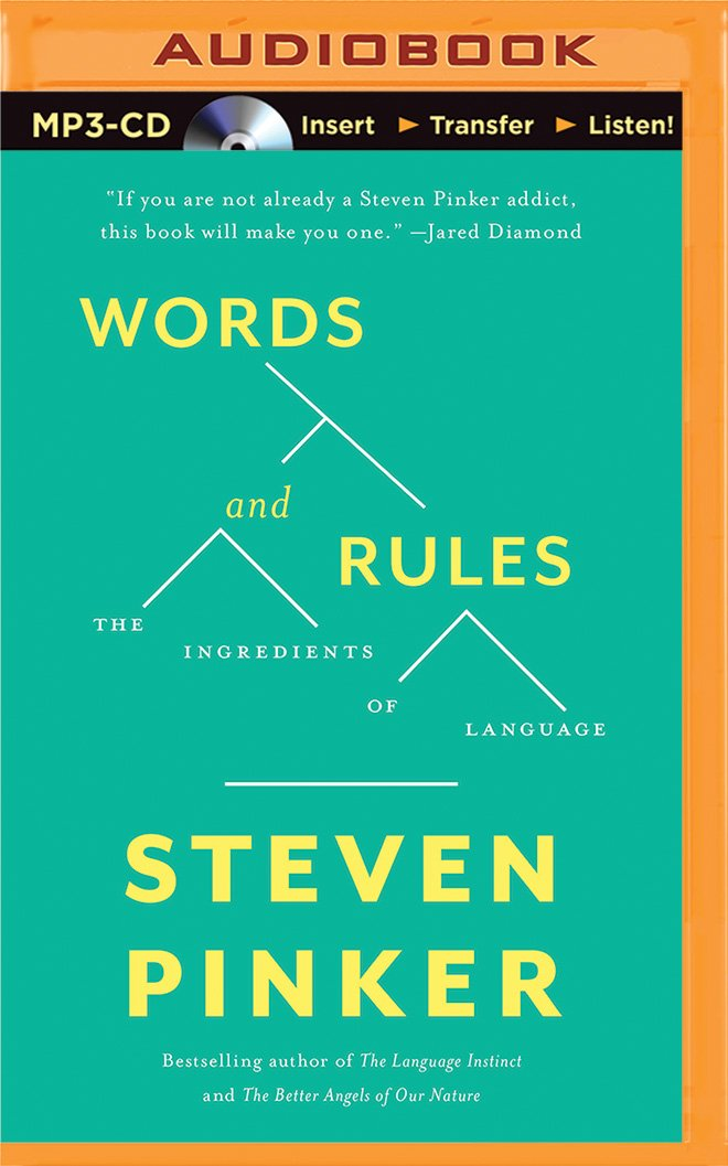 Words and Rules: The Ingredients Of Language by Brilliance Audio