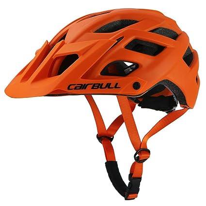 Amazon.com: Cairbull MTB Casco de bicicleta de montaña Casco ...