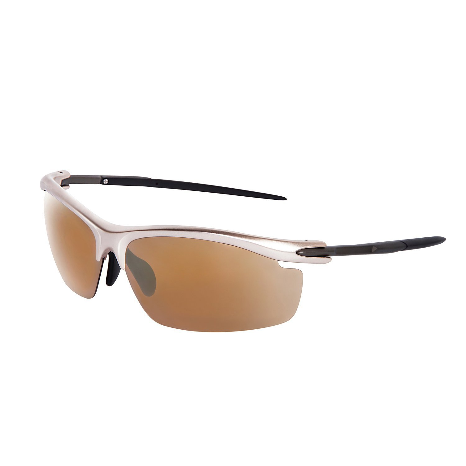 Unisex Polarized Sports Sunglasses for Men Women Baseball Fishing Golf Running Cycling Driving Softball Hiking TR90 Superlight Unbreakable Frame by Relxtrip