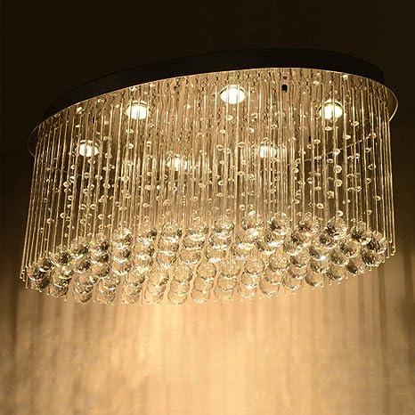 MJK Luces de techo, modernas lámparas colgantes K9 ...