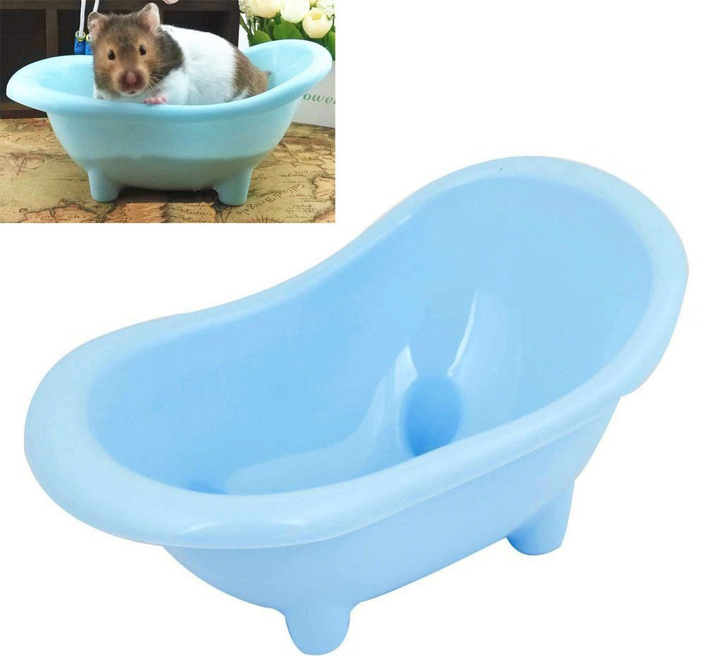 Amazon.com : Hamster Bathtub Small Pets Sauna Bath Sand Room ...