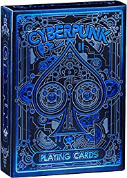 Cyberpunk Playing Cards, Deck of Cards with Free Card Game eBook, Premium Card Deck, Cool Poker Cards, Unique