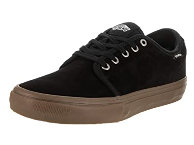 54324ad330a Image Unavailable. Image not available for. Color  Vans Mens Chukka Low Pro  Black Gum Skate Shoe ...
