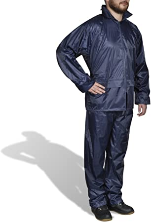 Result Adults Waterproof Jacket//Trouser Suit in Carry Bag
