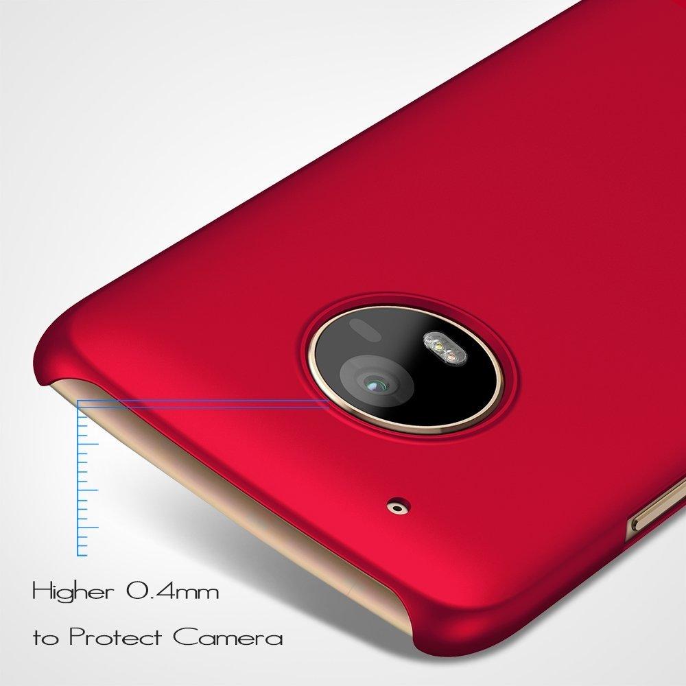 190ae02677a Almiao Funda Moto G5 Plus w/ [Moto G5 Plus Screen Protector Funda Protectora  de teléfono Delgada Minimalista Protector para Moto G5 Plus 5.5 Pulgadas  (Plata ...