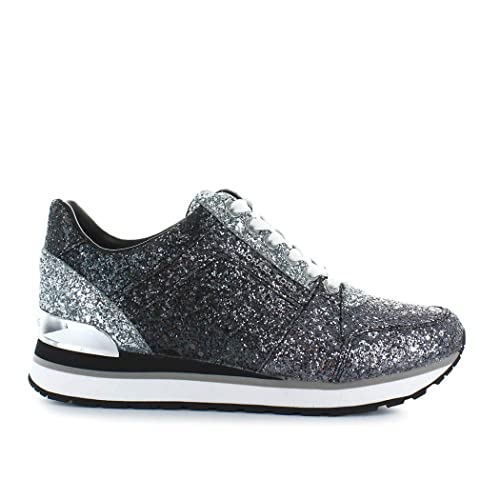 845625c2011d Michael Kors Women's Shoes Sneakers Billie Trainer Glitter 43T8BIFS4D  GunBlk New: Amazon.co.uk: Shoes & Bags
