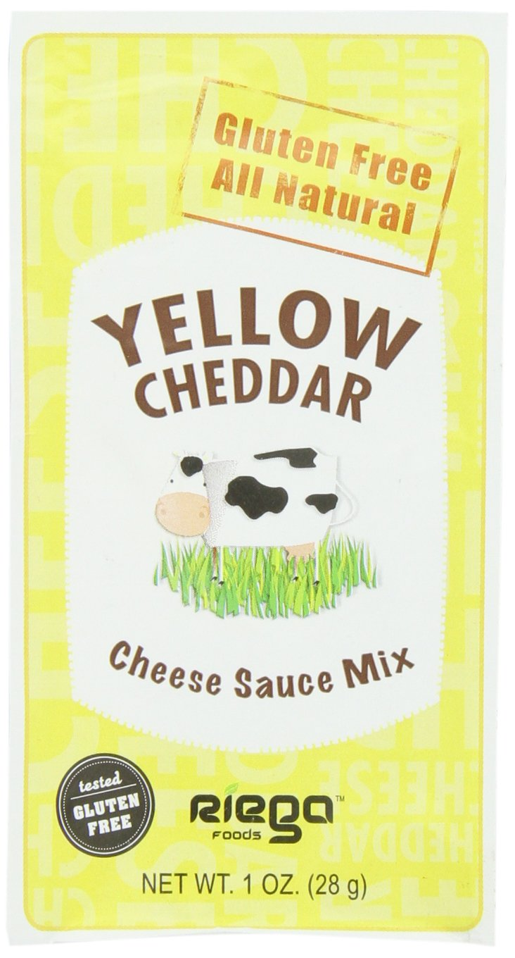 Riega Cheese Sauce Mix, Yellow Cheddar, 1 Ounce (Pack of 12)
