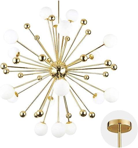 Modo Lighting Chandelier Lighting Fixture Gold Mid Century Pendant lamp