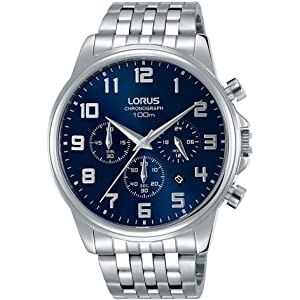 Lorus Herren Uhr Rm311ex9Amazon Mit Armband Edelstahl Analog Quarz 2IWHED9Y