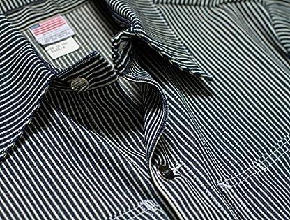 Chore Coat: Hickory Stripe
