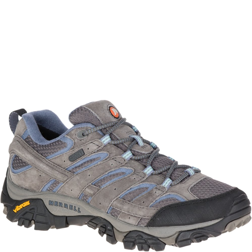 Merrell Women's Moab 2 Waterproof Hiking Shoe, Granite, 9.5 M US by Merrell