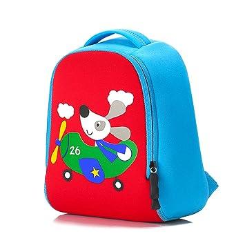 d889c9e7c883 ParaCity Kids Backpacks 3D Cute Animal Cartoon Design Backpack Toddler Kid  Neoprene School Bags for Kindergarten Boys Girls (Dog)  Amazon.co.uk   Luggage