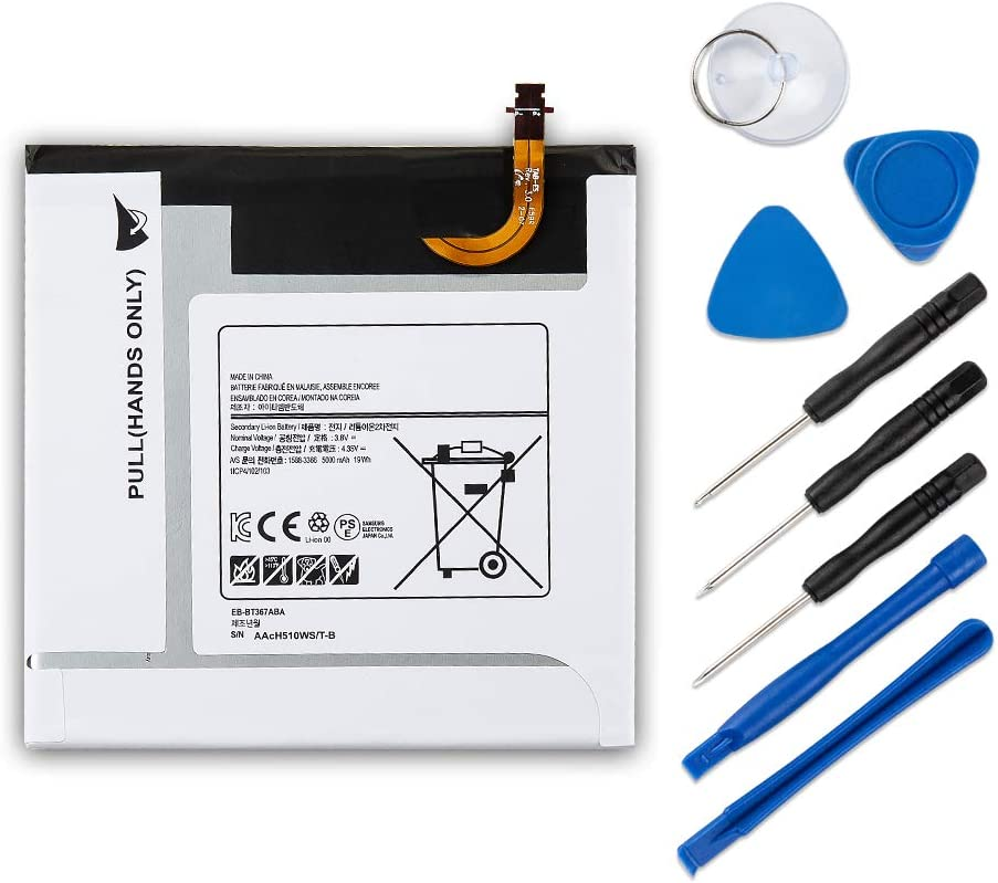 Quality Cellular/® Replacement Samsung Galaxy Tab E 8.0 Battery EB-BT367ABE 5000 mAh SM-T377 T375 T380