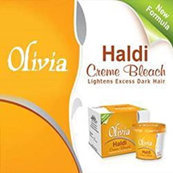 Amazon.com: Olivia Natural haldi usar lejía, crema: Beauty