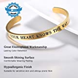 Adjustable Bracelet Your Heart Knows The Way Bible