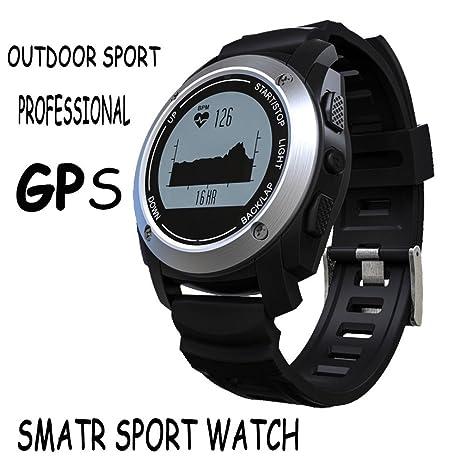 Black Reloj De Pulsera De Fitness For Girls , Shengyaohul Digital Wrist Watch Bluetooth / Sentada