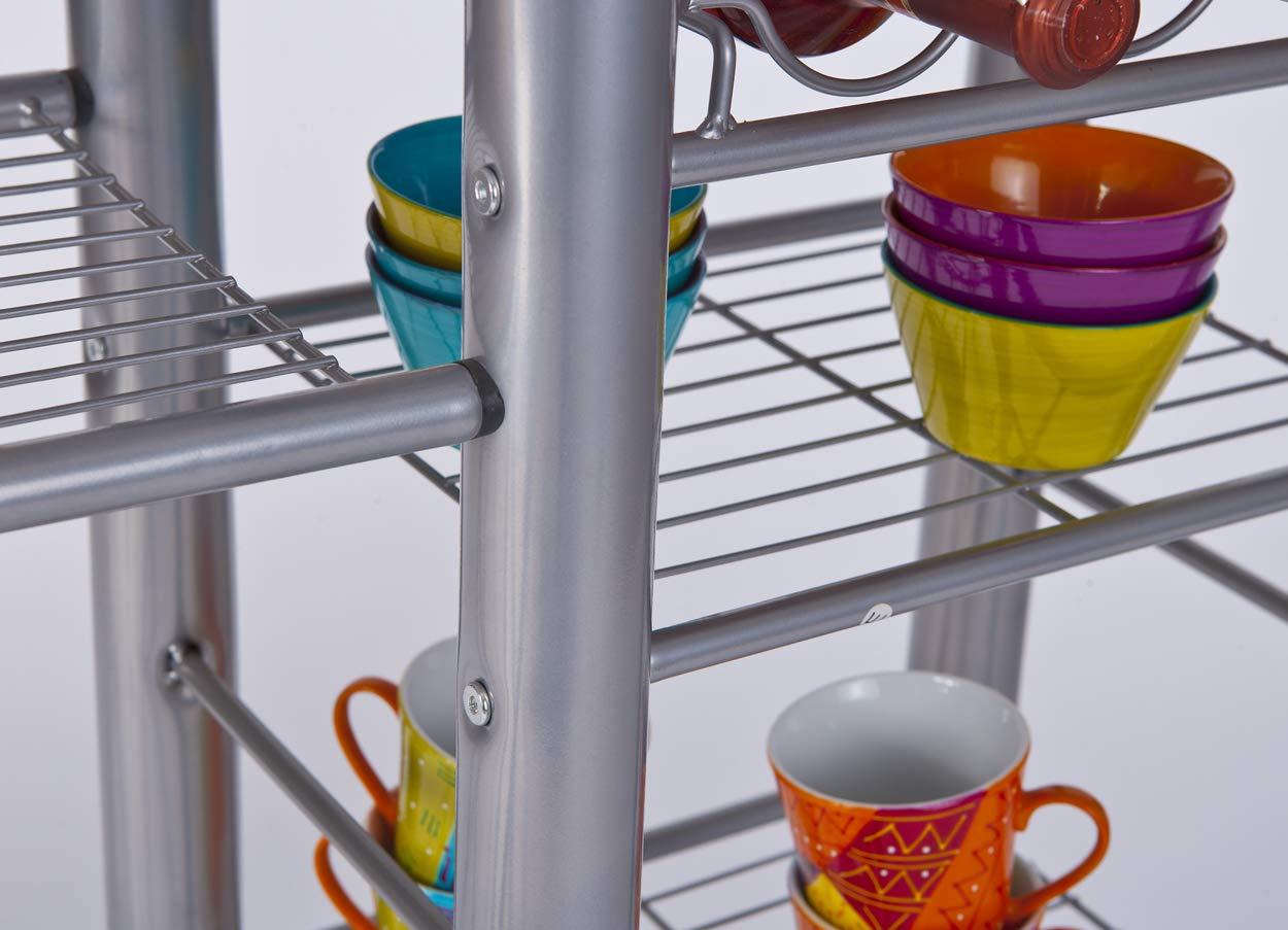 50901190 2 sgabelli Tavolo bar da cucina colore: Bianco incl design moderno Links