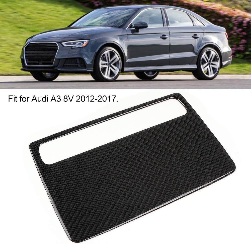 Car Carbon Fiber Meter Decoration Sticker Fit for Audi A3 8V 2012-2017 Car Meter Decoration Sticker