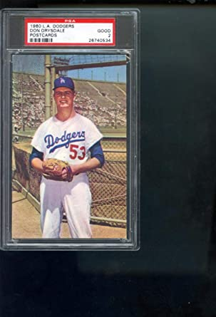 ROOKIE DON DRYSDALE WINS HIS FIRST GAME FOR THE DODGERS ALL TIME GREAT 8x10