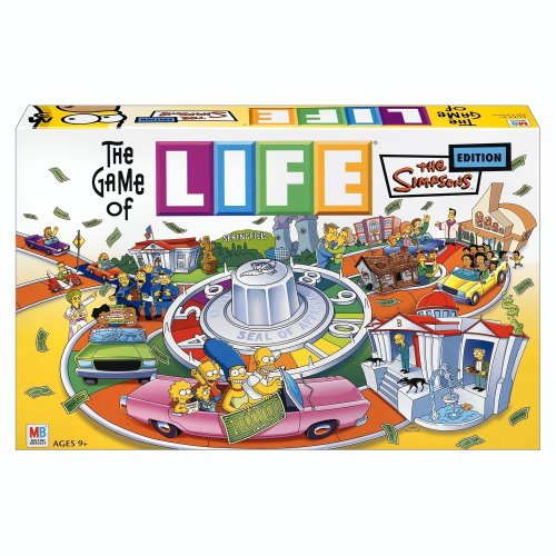 - Hasbro The Game of Life - Simpsons Edition