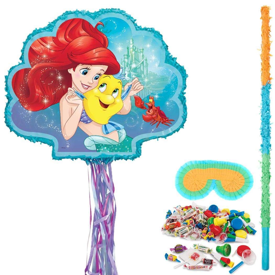 Birthday Express Kits Little Mermaid Pinata Kit