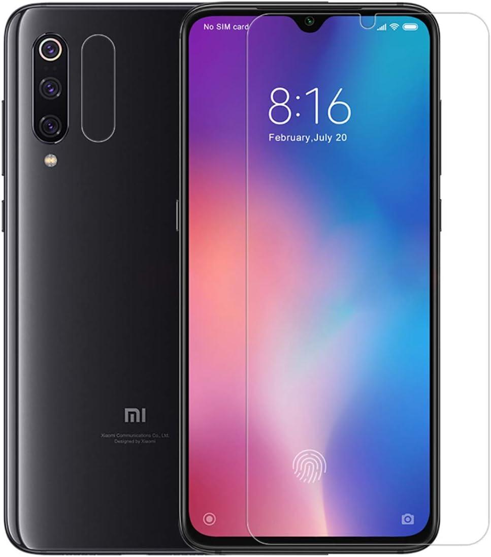 NILLKIN Protector de Pantalla Xiaomi Mi 9/Mi 9 Explore, Protector de Pantalla de Cristal Templado de Alta definición (HD), dureza 9H, Protector de Pantalla de 0.33 mm para Xiaomi Mi 9/Mi 9 Explore