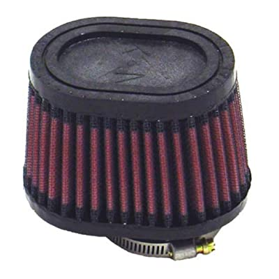 K&N Universal Clamp-On Air Filter: High Performance, Premium, Replacement Engine Filter: Flange Diameter: 1.75 In, Filter Height: 2.75 In, Flange Length: 0.625 In, Shape: Oval Straight, RU-2450: Automotive