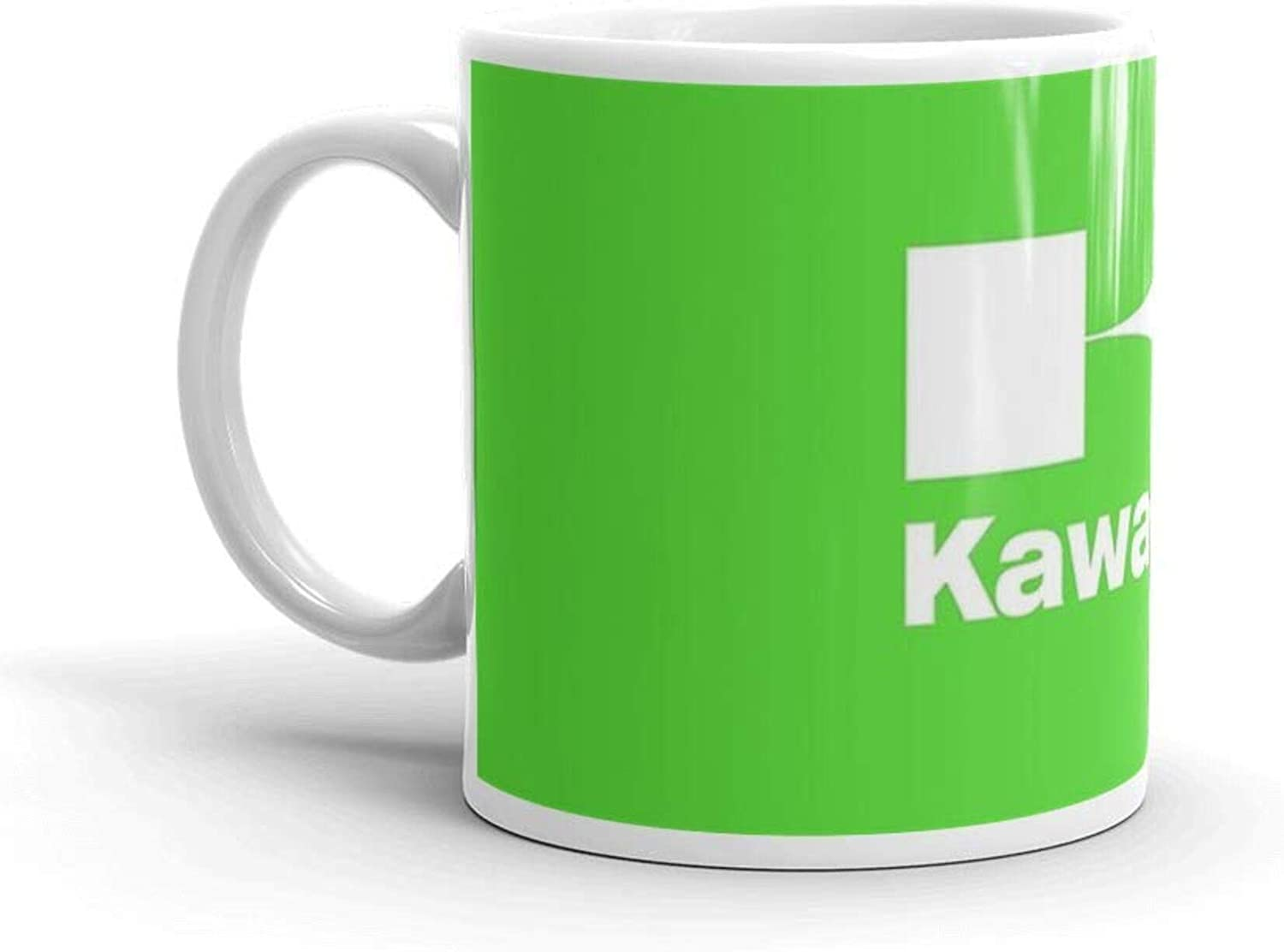 Comfortable To Hold 11 Oz Ceramic Glossy Present For Coffee Lovers Quote Mug Present For Men /& Women FWEZ 11 Oz Ceramic Coffee Mugs With C-shape Handle Kawasaki