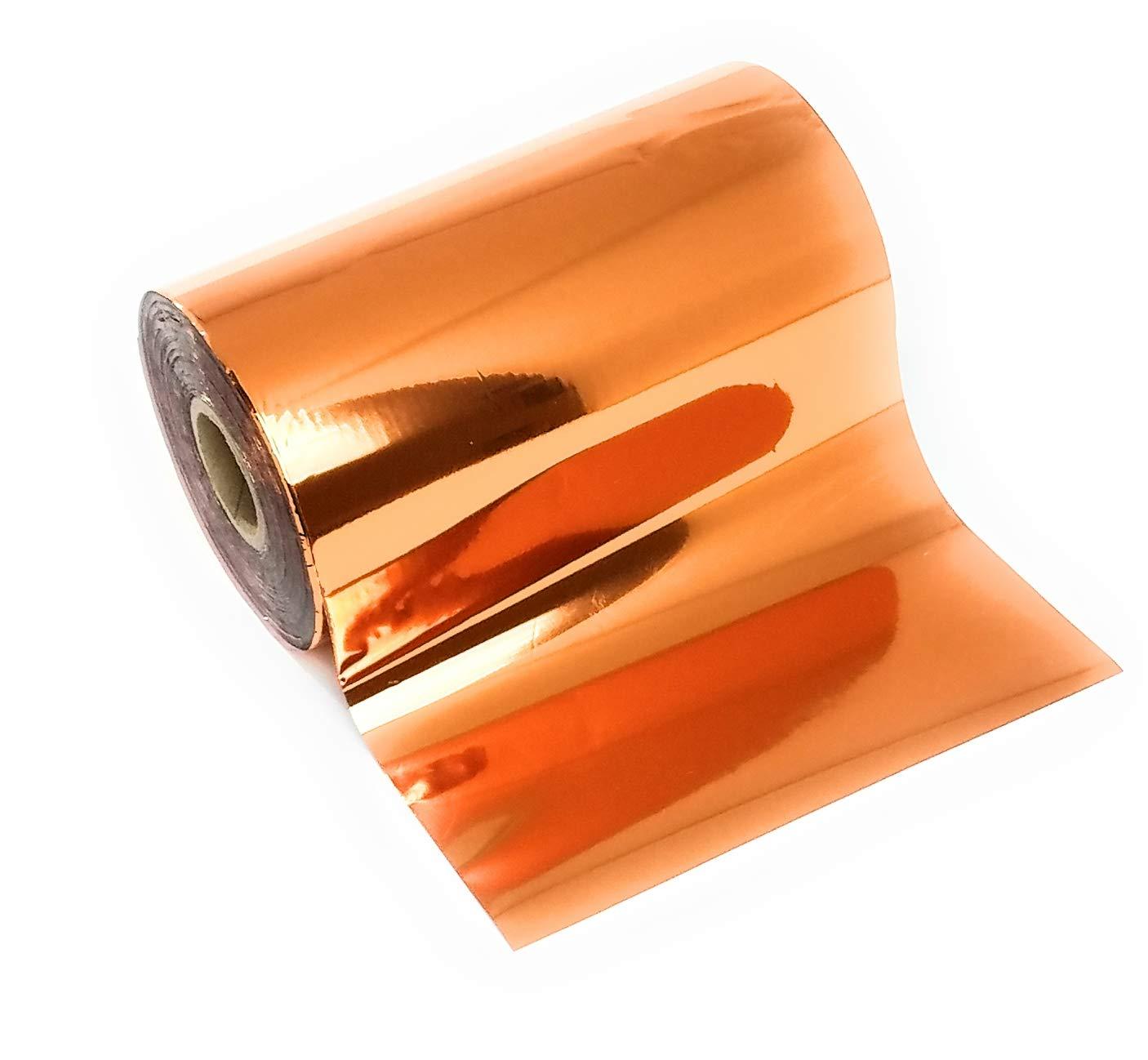 Copper Bright Metallic Hot Stamping Craft Foil