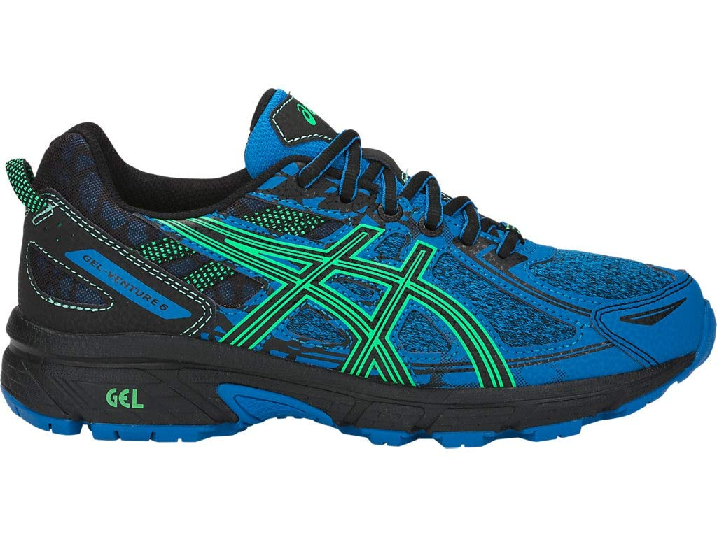 ASICS Kid's Gel-Venture 6 GS Running Shoes, 5, Directoire Blue/New Leaf