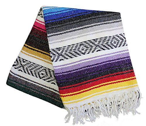 Del Mex Classic Mexican Falsa Blanket Vintage Style (Fiesta)