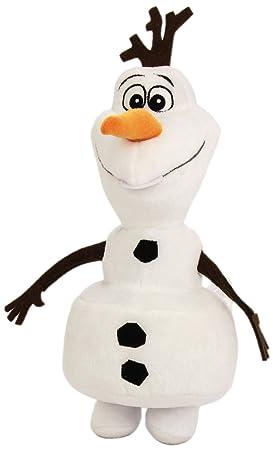Disney Reine des Neiges Peluche Olaf Debout 24 Cm
