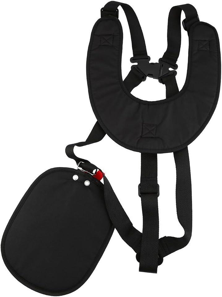 Lawn Mower Double Strap Shoulder Harness Black Comfort Trimmers//Strimmer Nylon Belt for Brushcutters