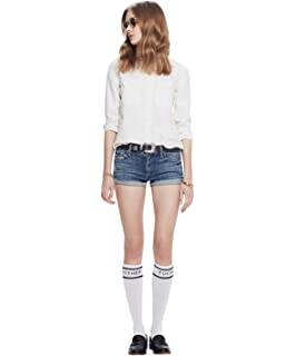 MOTHER Womens MF Ra Ra Knee Socks