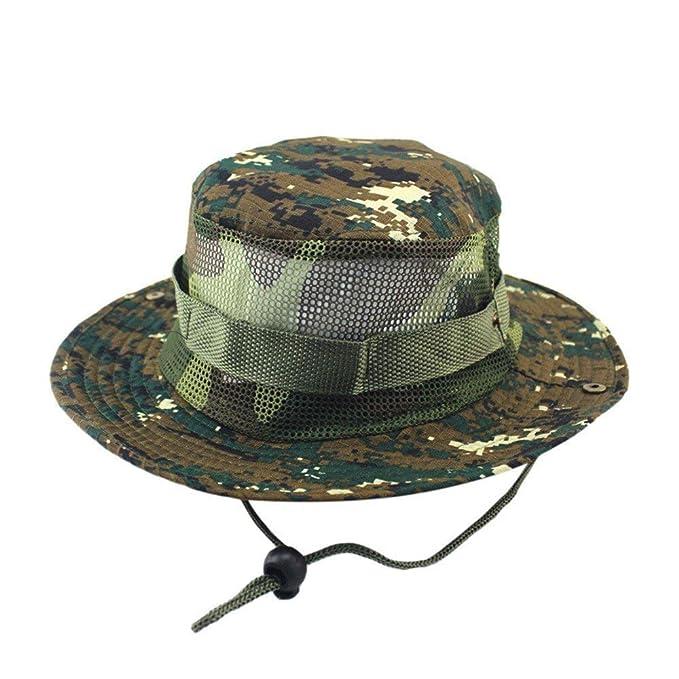 Gorra Para Mujer Sombrero De Bush Para Hombre Sombrero Ejército Del  Camuflaje Del Especial Estilo Cubo Sombrero De Pesca Deportiva Sombrero De  Caza Sombrero ... f710362ae38a