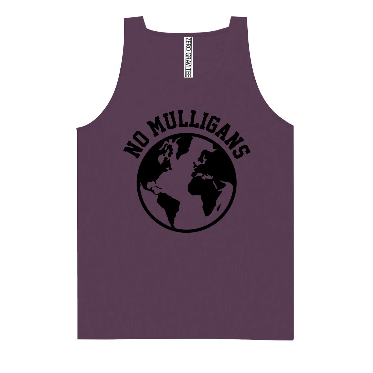 NO MULLIGANS Adult Pigment Dye Tank Top