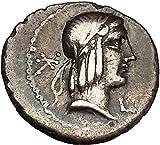 Roman Republic L. Calpurnius Piso Frugi Apollo Horse Racing AR Coin i41977