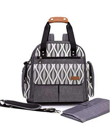 Lekebaby Messenger Nappy Changing Bag with Changing Pad and Stroller  Straps 9de92865ec748