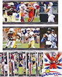 2017 Leaf Draft Football MASSIVE Complete 100 Card ROOKIE Set of the Top NFL Draft Picks! Includes Multiple RC Cards of Deshaun Watson, Mitch Trubisky ,Dalvin Cook,Christian McCaffrey & More! WOWZZER!