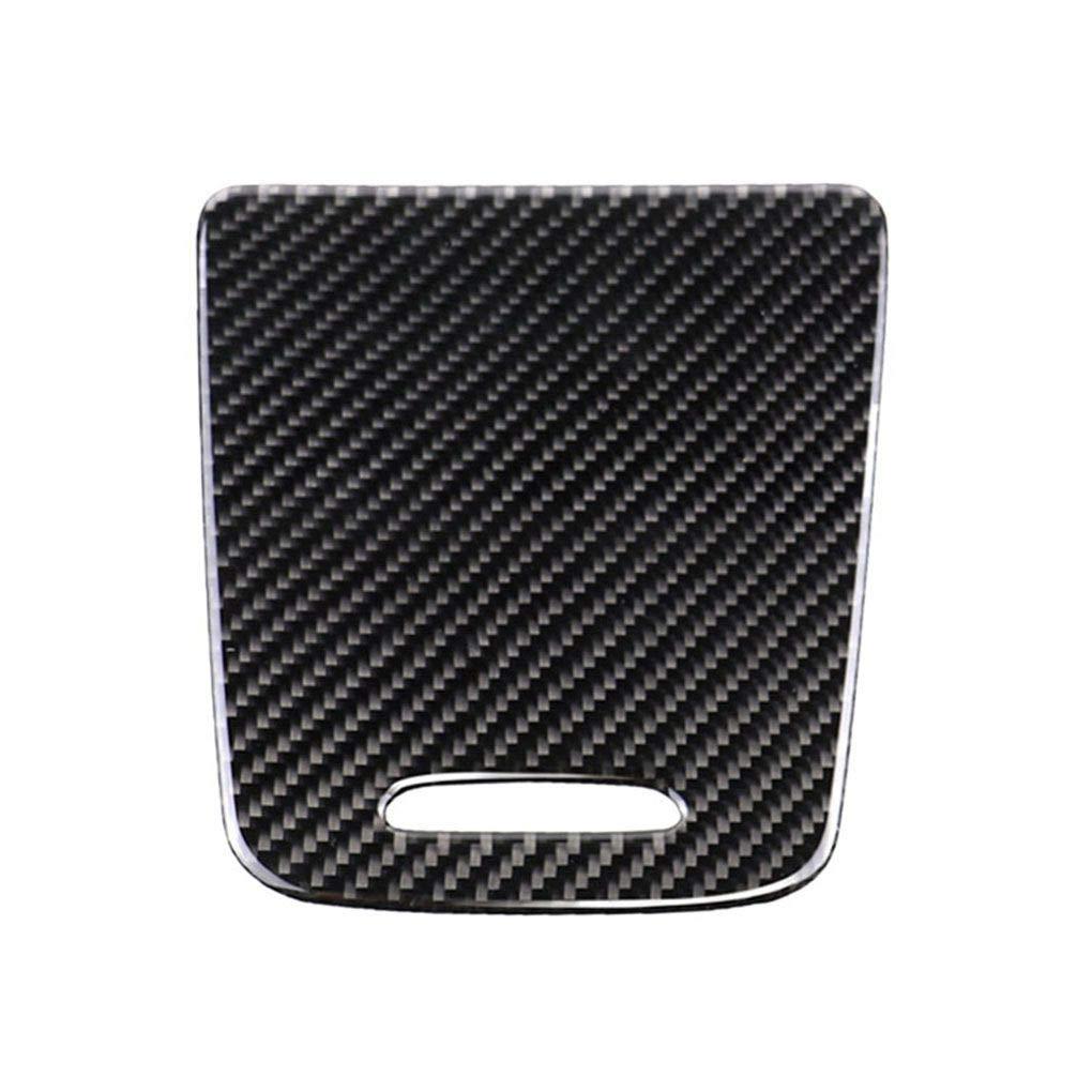 Republe Fibra di Carbonio accendisigari Sostituzione Coperchio del Pannello Copertura Decorativo Trim/Bagagli di Caso per la Mercedes GLA/CLA / A Classe