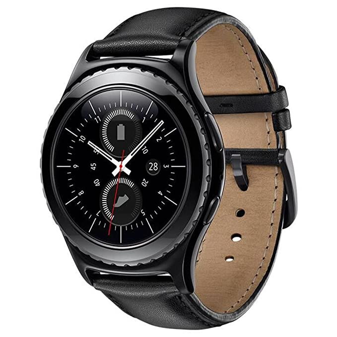 Sundaree Compatible con Galaxy Watch Active2/Galaxy Watch 42MM Correa,20MM Genuina Reemplazo Correa Pulsera Repuesto de Reloj para Samsung Galaxy ...