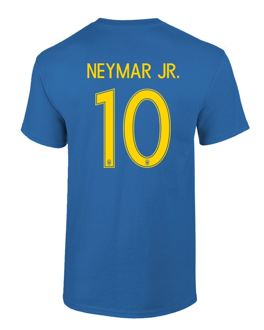 bfe5615512a Amazon.com: Tcamp Brazil 2018 National Soccer #10 NEYMAR JR. World  Championship Men's T-Shirt: Sports & Outdoors