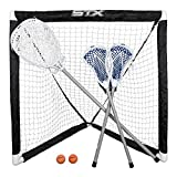 Rage Cage Game Set -2 FiddleSTX, Goal Stick, 3'x3' Goal, Ball