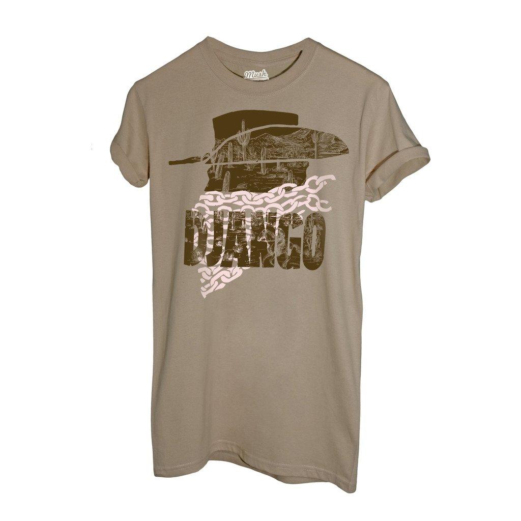 T-Shirt DJANGO WESTWRN MOVIE TARANTINO - FILM by iMage Dress Your Style imshT-IT-1800-parent