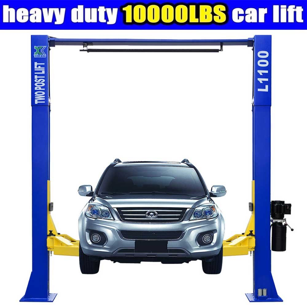 10, 000lbs Car Lift L1100 2 Post Lift Car Auto Truck Hoist / 12 Month Warranty XK