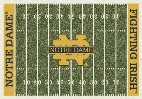 (Notre Dame College Home Football Field Rug: 54
